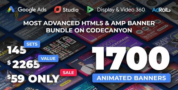 YN Bundle - Most Advanced HTML5 Banner Bundle made with Google Web Designer - CodeCanyon Item for Sale