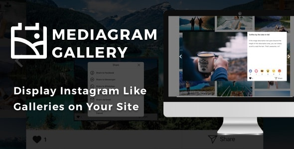 Mediagram Gallery for WordPress - CodeCanyon Item for Sale