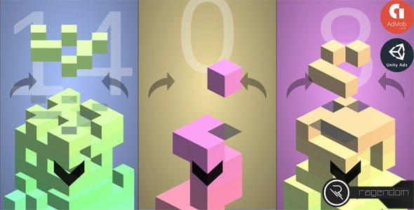 Falling Blocks – Complete Unity Game + Admob