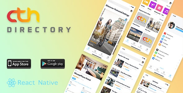 CTH Directory - React Native mobile apps - CodeCanyon Item for Sale