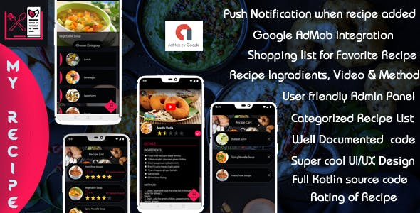 My Recipe - Android  (Kotlin)