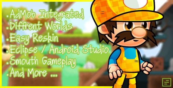 Crazy Adventures - Android studio & Eclipse + Admob Ads + IAP | Games