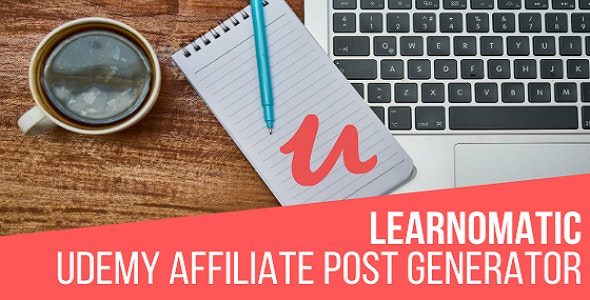Learnomatic - Udemy Affiliate Plugin for WordPress - CodeCanyon Item for Sale
