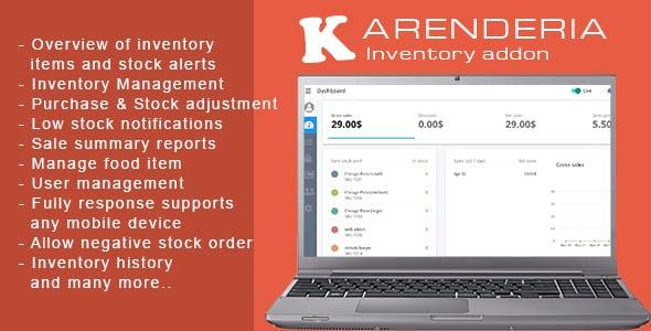 Karenderia Inventory Addon