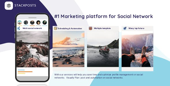 Stackposts - Social Marketing Tool