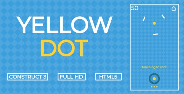 Yellow Dot - HTML5 Game (Construct3)