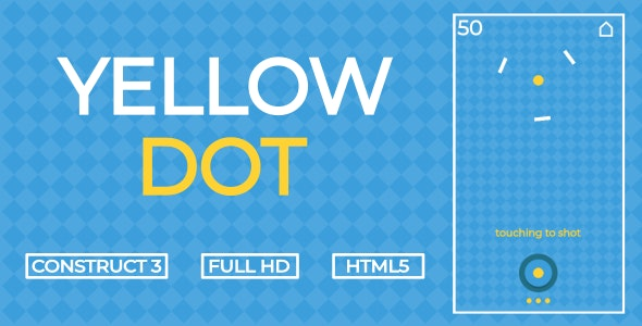 Yellow Dot - HTML5 Game (Construct3) - CodeCanyon Item for Sale