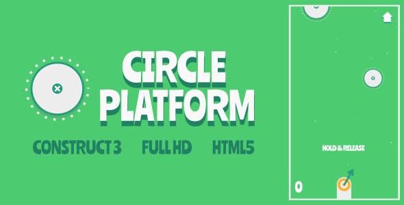 Circle Platform - HTML5 Game (Construct3)