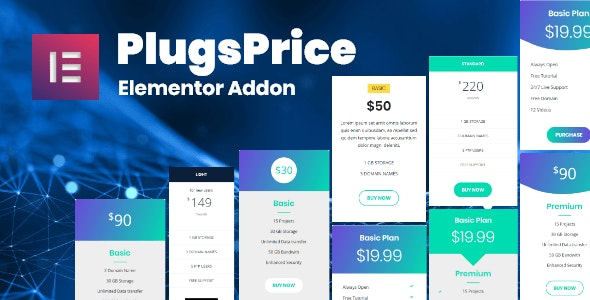 Plugsprice Pro Elementor Addons - CodeCanyon Item for Sale