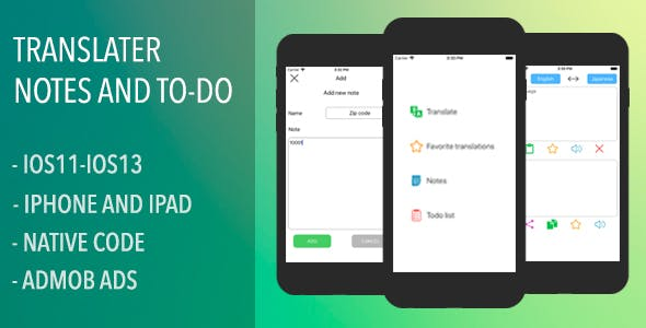Personal Assistant - Translator, Notes and To-Do list