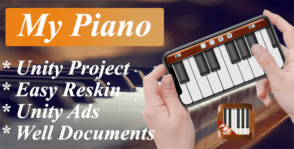 My Piano - Unity Complete Project With Unity Ads