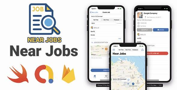 Near Jobs - Full iOS Application