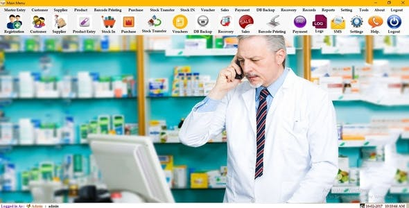 Pharmacy POS Management System - PMS Medicine Store