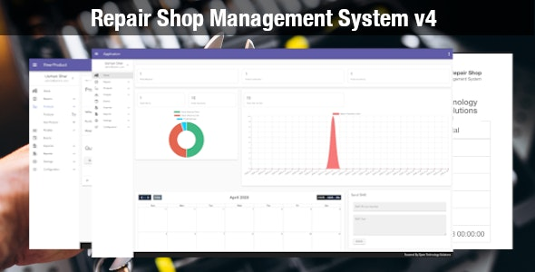 Repairer 4.2 - Repair/Workshop Management System - CodeCanyon Item for Sale