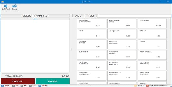 Quick Sale Module - Shop Management Software - Stock and Invoice Management - Point Of Sale (POS)