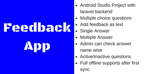 Fortin Feedback/Survey Android App with Laravel Backend - CodeCanyon Item for Sale