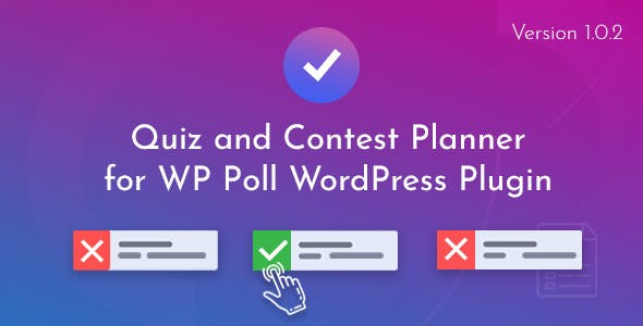 Quiz and Contest Planner for WP Poll