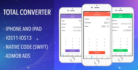 Total Converter - IOS Full App Code