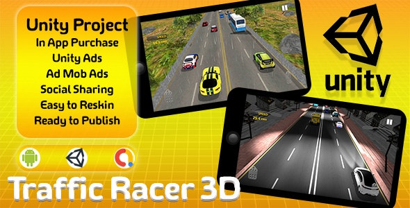 Traffic Racer 3D - CodeCanyon Item for Sale