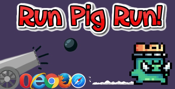 Run Pig Run! HTML5 - CodeCanyon Item for Sale