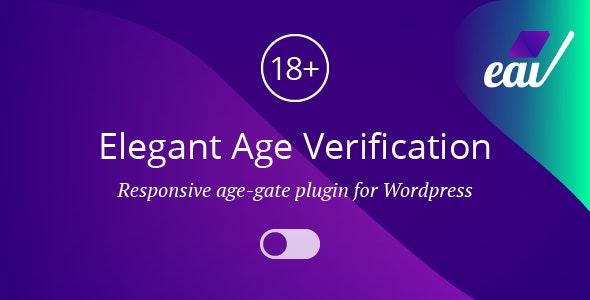 Elegant Age Verification for WordPress - CodeCanyon Item for Sale