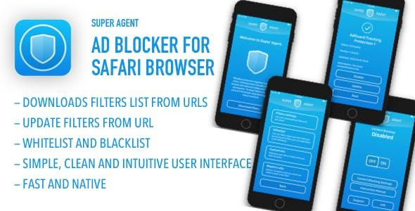 Super Agent - Ad blocker for Safari browser