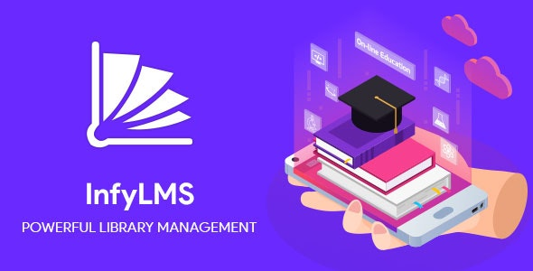 InfyLMS Mobile App - Library Management Solutions (React Native) - CodeCanyon Item for Sale