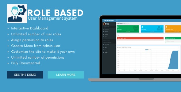 UserManager - Role Based User Manager in ASP.NET Core - CodeCanyon Item for Sale