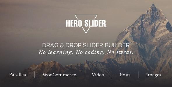Hero Slider - WordPress Slider Plugin - CodeCanyon Item for Sale