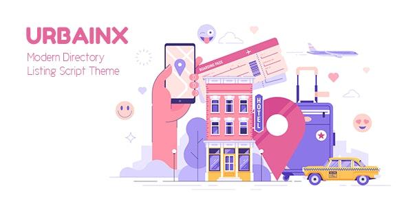 Urbainx - Modern Directory Listing Script Theme - CodeCanyon Item for Sale
