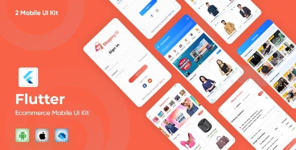 E-Commerce UI Template in Flutter