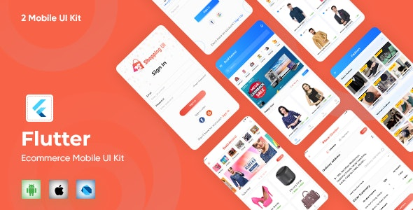 E-Commerce UI Template in Flutter - CodeCanyon Item for Sale