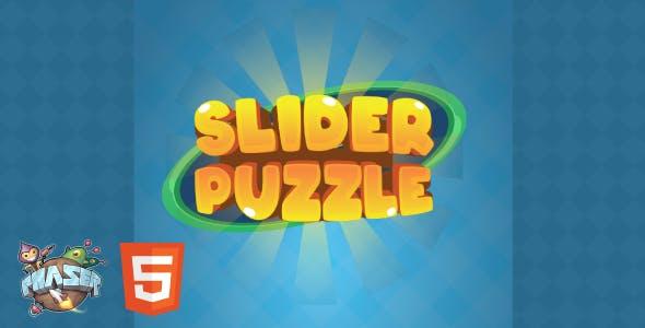 Slider Puzzle - HTML5 Game (Phaser 3)