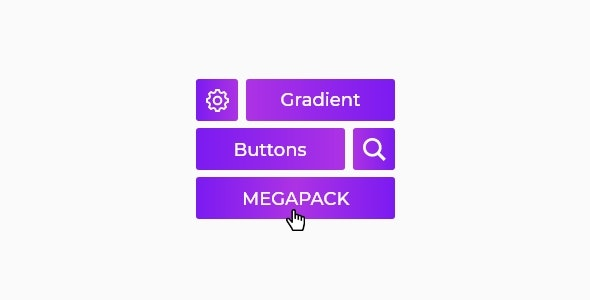 Gradient Buttons Megapack - CodeCanyon Item for Sale