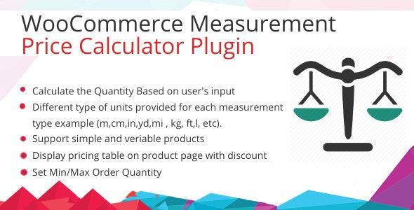 WooCommerce Measurement Price Calculator Plugin - CodeCanyon Item for Sale