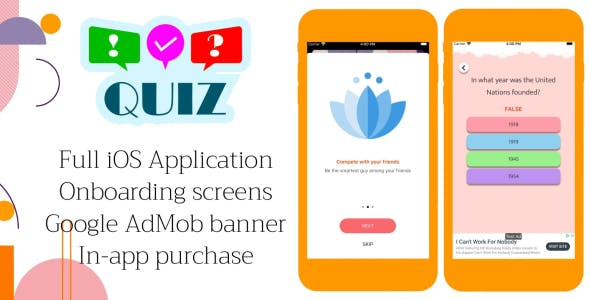 Quiz Time - Full iOS Application
