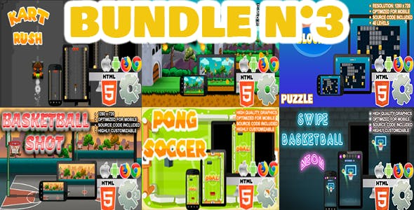 Bundle N°3 ( 06 games | CAPX and HTML5 )