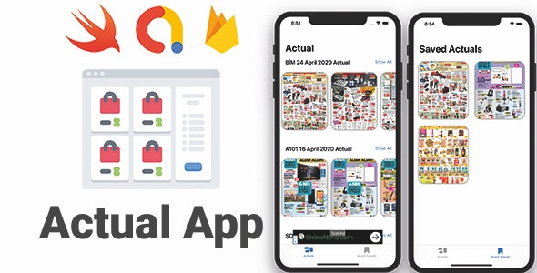Actual App | Full iOS Application - CodeCanyon Item for Sale