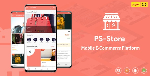 PS Store ( Mobile eCommerce App for Every Business Owner ) 2.5 - CodeCanyon Item for Sale