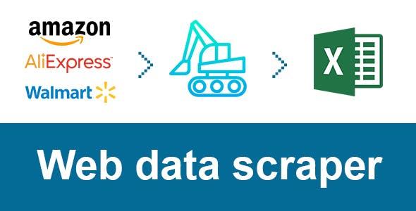 DataExcavator - web scraping server