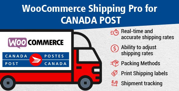 WooCommerce Shipping Pro for Canada Post