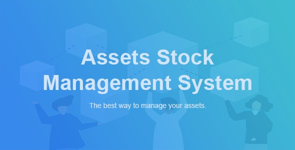 ASM - Assets Stock Management System - CodeCanyon Item for Sale