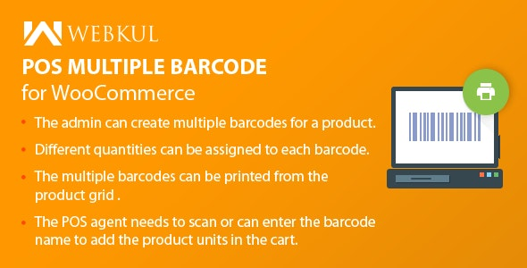 WooCommerce POS Multiple Barcode - CodeCanyon Item for Sale