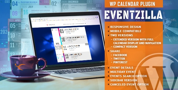 EventZilla - Event Calendar WordPress Plugin - CodeCanyon Item for Sale