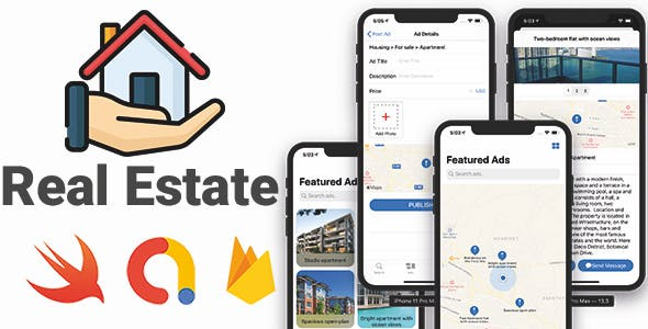 Real Estate App | Full iOS Application