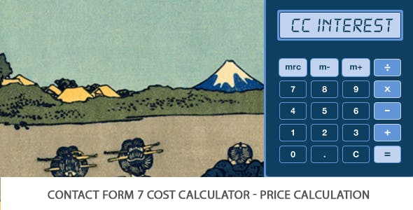 Contact Form Seven 7 Cost Calculator - Price Calculation (Add-on For CF7)