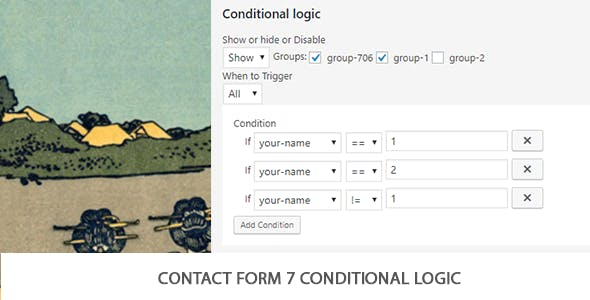 Contact Form 7 Conditional Logic