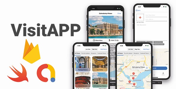 VisitApp 2.0 | Full iOS Application - CodeCanyon Item for Sale