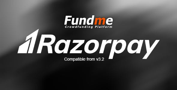Razorpay Payment Gateway for Fundme