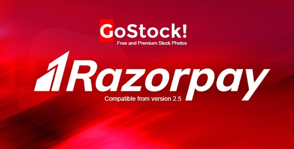 Razorpay Payment Gateway for GoStock - CodeCanyon Item for Sale